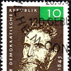 Sellos: 1965 - ALEMANIA - DDR - WILHELM RONTGEN - RAYOS X - YVERT 788. Lote 147570002