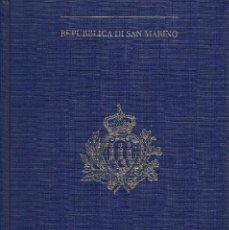 Sellos: SELLOS SAN MARINO AÑO 1995 , ESTAN EN UN LIBRO EDITADO POR LA AGENCIA FILATELICA DE SAN MARINO. Lote 147944702