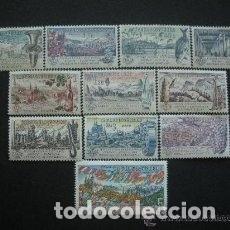 Sellos: CHECOSLOVAQUIA 1961 YVERT 1172/82 *** EXPOSICIÓN INTERNACIONAL DE FILATÉLIA - PRAGA 62 - PAISAJES. Lote 151292086