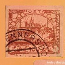 Sellos: CHECOSLOVAQUIA 1918 - CATEDRAL DE SAN VITO - IGLESIA DE SAN NICOLAS (PRAGA).. Lote 151436830