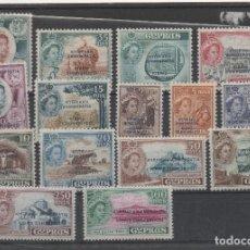 Sellos: COLONIAS BRITANICAS_CHIPRE=Nº171/85_PROCLAMACION DE LA REPUBLICA_CATALOGO 225 EUROS_VER FOTOS. Lote 155643482
