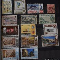 Sellos: LOTE 15 SELLOS DIFERENTES DE GIBRALTAR. Lote 156010158