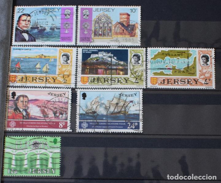 Sellos: lote 46 sellos diferentes de Jersey - Foto 3 - 156010378