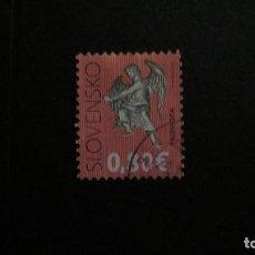 Sellos: ESLOVAQUIA-2012-0,80 EUR. Y&T 590/º/. Lote 156660358