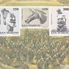 Sellos: SAN MARINO - HB 13 - AÑO 1986 - XV ANIVERSARIO RELACIONES DIPLOMATICAS CON CHINA - NUEVOS. Lote 158390622