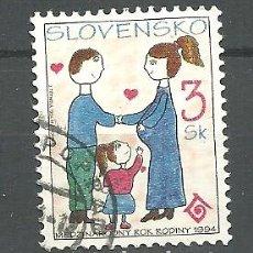 Sellos: YT 153 ESLOVAQUIA 1994. Lote 205590172