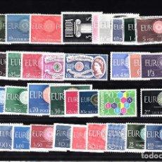 Sellos: EUROPA 1960 -COMPLETO NUEVO SIN CHARNELA 20 PAISES - 36 VALORES - SOLICITE SUS FALTA DE TEMA EUROPA. Lote 161146718