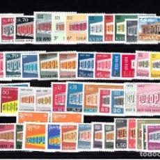 Sellos: EUROPA 1969 -COMPLETO NUEVO SIN CHARNELA 26 PAISES - 52 VALORES - SOLICITE SUS FALTA DE TEMA EUROPA. Lote 161158462