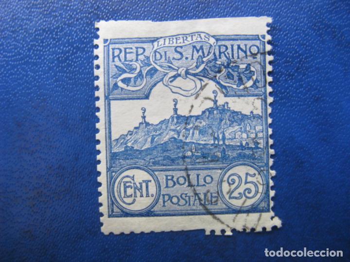 SAN MARINO, 1903 YVERT 38 (Sellos - Extranjero - Europa - Otros paises)