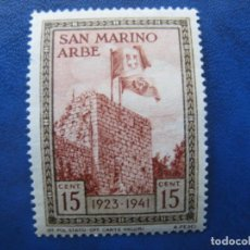 Sellos: SAN MARINO, 1942 YVERT 212. Lote 161449242