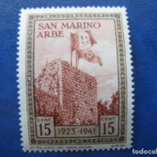 Sellos: SAN MARINO, 1942 YVERT 212. Lote 161449382