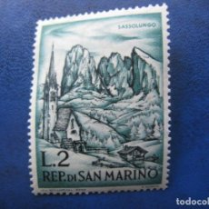 Sellos: SAN MARINO, 1962 ALPINISMO, YVERT 553. Lote 161451538