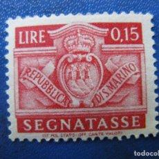 Sellos: SAN MARINO, 1945 SELLO DE TASA, YVERT 65. Lote 161453418