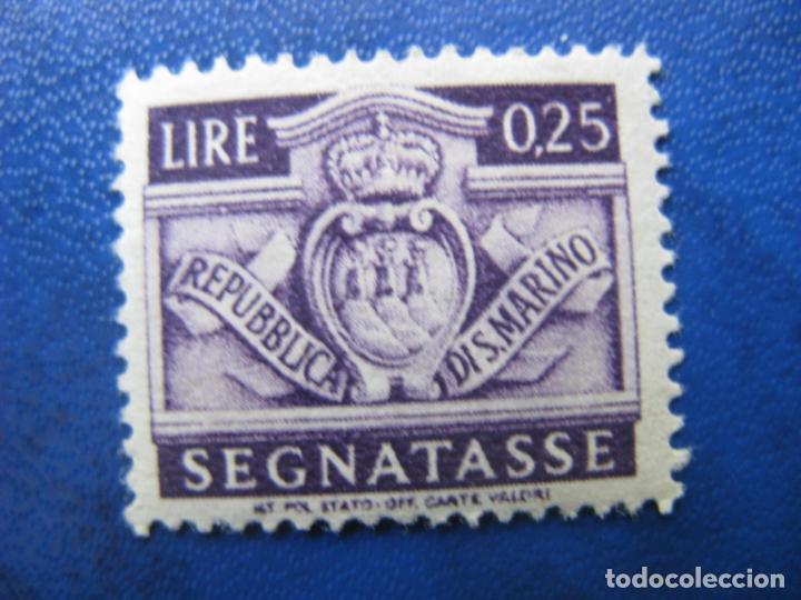 SAN MARINO, 1945 SELLO DE TASA, YVERT 67 (Sellos - Extranjero - Europa - Otros paises)