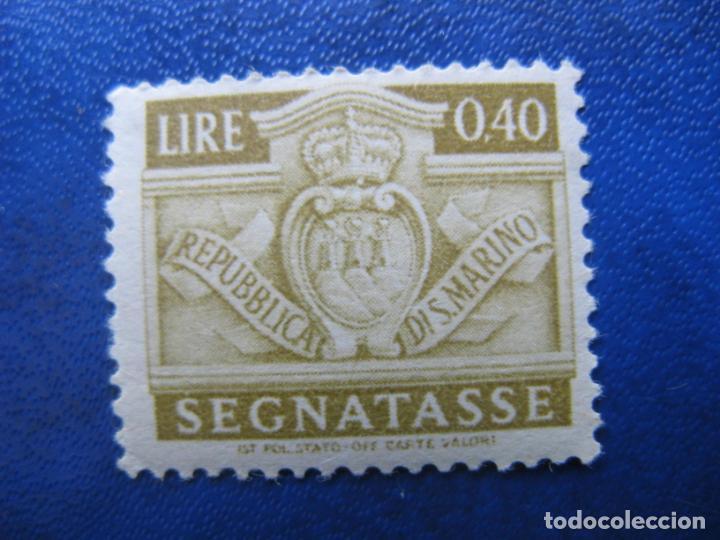 SAN MARINO, 1945 SELLO DE TASA, YVERT 69 (Sellos - Extranjero - Europa - Otros paises)