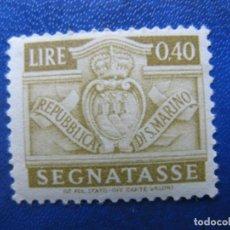 Sellos: SAN MARINO, 1945 SELLO DE TASA, YVERT 69. Lote 161453906
