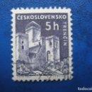 Sellos: CHECOSLOVAQUIA, 1960 CASTILLOS, YVERT 1068. Lote 164852650
