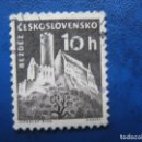 Sellos: CHECOSLOVAQUIA, 1960 CASTILLOS, YVERT 1069. Lote 164852770
