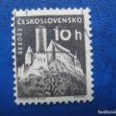 Sellos: CHECOSLOVAQUIA, 1960 CASTILLOS, YVERT 1069. Lote 164852886