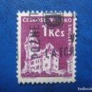 Sellos: CHECOSLOVAQUIA, 1960 CASTILLOS, YVERT 1074. Lote 164853738