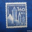Sellos: CHECOSLOVAQUIA, 1960 CASTILLOS, YVERT 1075. Lote 164853878