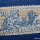 Sellos: CHECOSLOVAQUIA, 1960 15 ANIV.DE LA LIBERACION, YVERT 1080. Lote 164853970