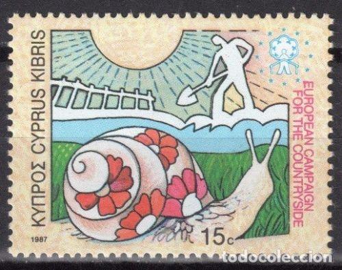 CHIPRE 1987 ** NUEVOS - 5/27 (Sellos - Extranjero - Europa - Otros paises)