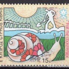 Briefmarken - CHIPRE 1987 ** NUEVOS - 5/27 - 164900454