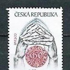 Sellos: CHEQUIA,1998,USADO, UNESCO,,MICHEL 173. Lote 165260506