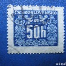 Sellos: CHECOSLOVAQUIA, 1946 SELLO DE TASA YVERT 69. Lote 166184638