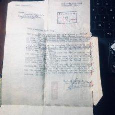 Sellos: CARTA_SOBRE ENTERA DE TEL_AVIV ISRAEL EN 1954 A ALEMANIA INTERESANTE. Lote 166392402