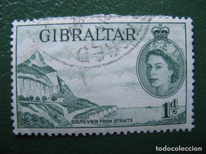 GIBRALTAR, 1953 YVERT 131 (Sellos - Extranjero - Europa - Otros paises)