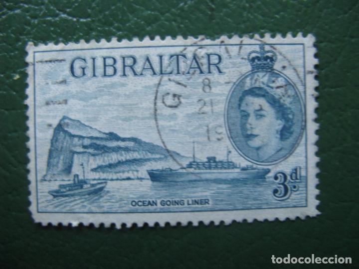 GIBRALTAR, 1953 YVERT 135 (Sellos - Extranjero - Europa - Otros paises)