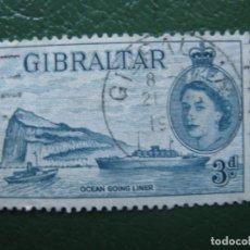 Sellos: GIBRALTAR, 1953 YVERT 135. Lote 166559350