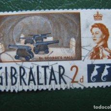 Sellos: GIBRALTAR, 1960 YVERT 147. Lote 166559830