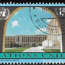 Sellos: ONU. SEDE GINEBRA 1994. PALACIO DE LAS NACIONES. USADO. Lote 167599400