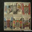 Sellos: CHECOSLOVAQUIA 1968 IVERT 1631/6 *** JUEGOS OLIMPICOS DE MEXICO - DEPORTES. Lote 168711240