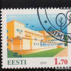 Sellos: ESTONIA 262 - AÑO 1995 - VIA BALTICA. Lote 170952865