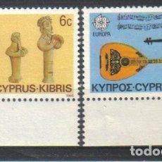 Sellos: CHIPRE 637/8 EUROPA CEPT. Lote 172147529