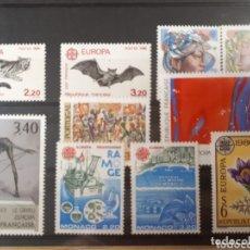 Sellos: SELLOS DE EUROPA AÑO 1986 FRANCIA SUIZA MONACO AUSTRIA LOT.N 868. Lote 172259637