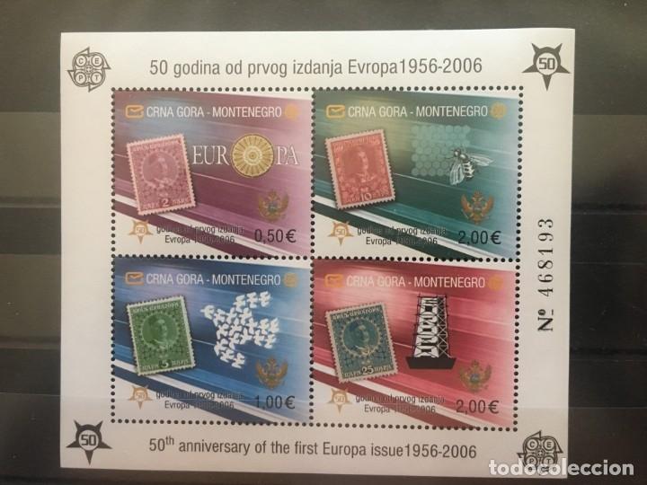 MONTENEGRO AÑO 2006 (Sellos - Extranjero - Europa - Otros paises)