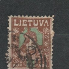 Sellos: LOTE E SELLOS SELLO LITUANIA. Lote 173914604