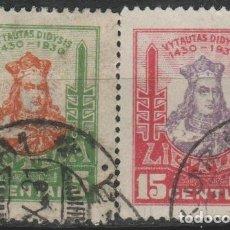 Sellos: LOTE E SELLOS LITUANIA. Lote 173914775