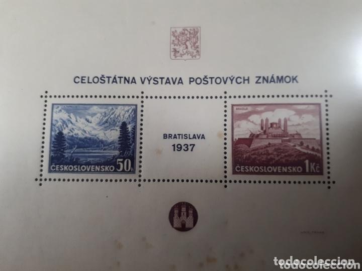 SELLOS DE CHECOSLOVAQUIA AÑO 1937 LOT.N.7038 (Sellos - Extranjero - Europa - Otros paises)