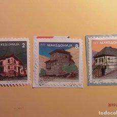 Sellos: MACEDONIA DEL NORTE - EDIFICIOS TÍPICOS.. Lote 174072923