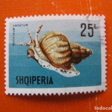 Sellos: ALBANIA 1968, MOLUSCOS, YVERT 1120. Lote 176240647