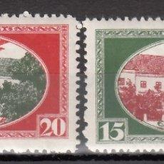 Sellos: LETONIA, AÉREO 1930 YVERT Nº 6A / 7A, /**/, SIN FIJASELLOS, . Lote 177621398