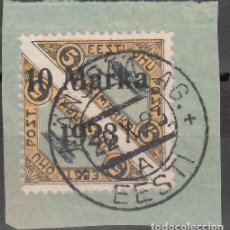 Sellos: ESTONIA, AÉREO 1923 YVERT Nº 3A, DENTADO 11½.. Lote 177622618
