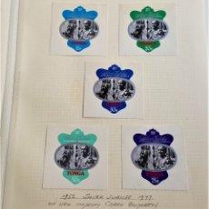 Sellos: 1952-1977 TONGA SILVER JUBILEE QUEEN ELIZABETH SET DE SELLOS. Lote 177721509