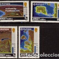 Sellos: SELLOS NUEVOS DE JERSEY, YT 272/ 75. Lote 177988833